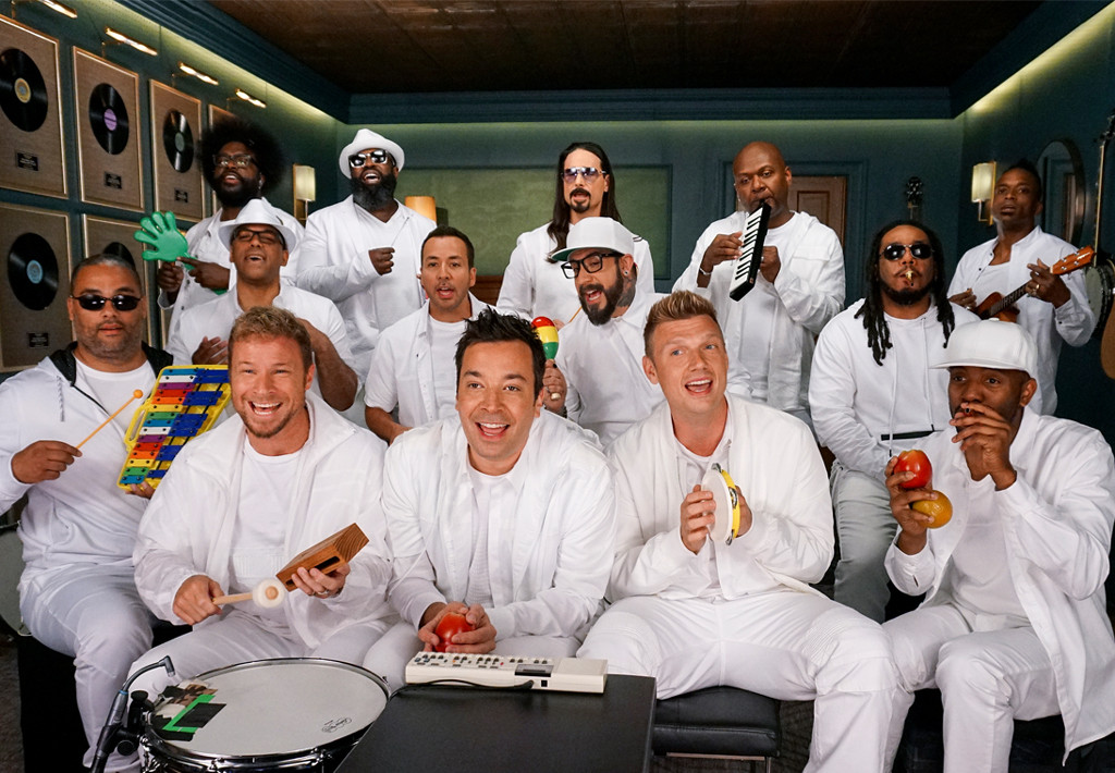 Jimmy Fallon, The Roots, Backstreet Boys